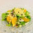 切干し大根とオレンジのサラダ