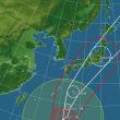 台風21号(LAN) 本土上陸で警戒。