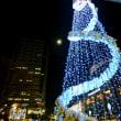 クリスマスツリーと14番目の月