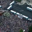 「戦争法案反対!」国会前10万人のうねり(ANN)