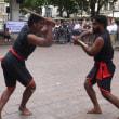 第2440回 'Kalaripayattu' show for India Independence Day