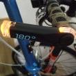 二人乗り自転車の旅・・・夜道を安全に・・・。