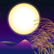 パワーストーン 今日は中秋の名月♪パワーストーンを月光浴させましょう!