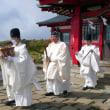 24日は駒ケ岳山頂御神火祭、元宮例祭。