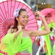 疾風乱舞「草加ふささら」草加駅前よさこいサンバフェスティバル2017