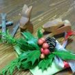 クリスマス スワッグ作り