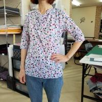 ドレープTシャツ&8枚はぎスカート他