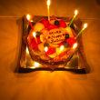 バースデーにたくさんお祝いしていただきました。『福岡市の社交ダンススクール・レンタルスタジオのダンススクールライジングスター』