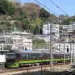 快速「伊豆いで湯やまどり」 熱海駅到着 (2018年2月11日)
