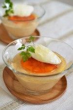 アガベで柿のムース