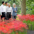 皇后の「曼珠沙華が見たい」の一言で朝鮮神社へ?
