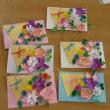 Aさんの簡単工作「花束カードをつくっちゃおう」