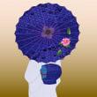 和服と和傘