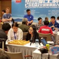 2018グローバルペアシャンチー(象棋)トーナメント3日目