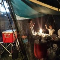 恒例の家族キャンプ