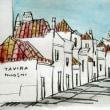 1474.タヴィラの町角