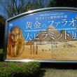 県立美術館「黄金のファラオと大ピラミッド展」