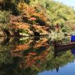 亀山湖で自作カヤック
