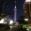 ■ 福岡タワー ティファニーの宝石のように、シンプルで清楚で美しい。