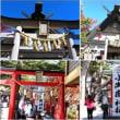 富士山五合目にある山の神社(山梨富士吉田)