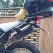 バイクのテールランプを・・・