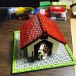 ナノブロックのキャバリアに犬小屋をプレゼント #ナノブロック #nanoblock #キャバリア #犬小屋
