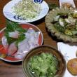 6月18日(月)間八と夏野菜のの青海まぶし