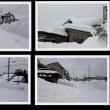 団地の大雪
