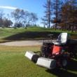 ゴルフ場での一日