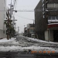 一ノ木戸周辺の積雪20cm