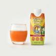 世界的にも珍しいパパイヤ果汁飲料「太陽が育てた完熟パパイヤのドリンク」