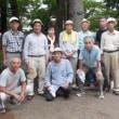8月10日(木) 水彩画サークル 太田黒公園で写生会