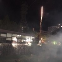 ヨハシラ神社の神道祭。