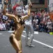 大道町人祭 金粉ショー