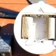 アマゾン注文のLEDセンサーライト( ´△`)アァ-電池式だったので改造。。。