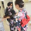 ゆかたの着付け 熊本市美容室ヘアモードリッツ