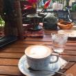 阪急岡町駅近くでコーヒー