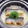 〆は秋刀魚ご飯で