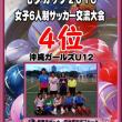 2018 七夕カップ女子6人制サッカー交流大会結果