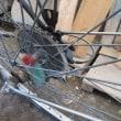 自転車の車軸の中に付けるフサフサってハブ毛なんだ