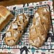 グリーンレーズン酵母で、食パンとクルミパンとフリュイ