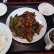 ナスと肉の味噌炒め