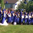 次女 のカナダの高校卒業式
