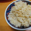 玄米ご飯炊けてた