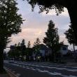 今日の夕焼け空!