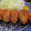 カキフライ定食 「茂兵エ」