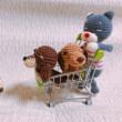 編み犬 ダックス