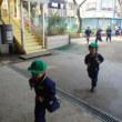 みどり・すみれ 4歳児 マラソン・戸外遊び