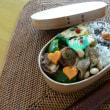 お弁当(豚肉の厚揚げ巻きソテー・ウスターソース青海苔風味)