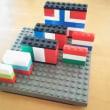 世界の国旗を作ろう|土浦のブロック教室